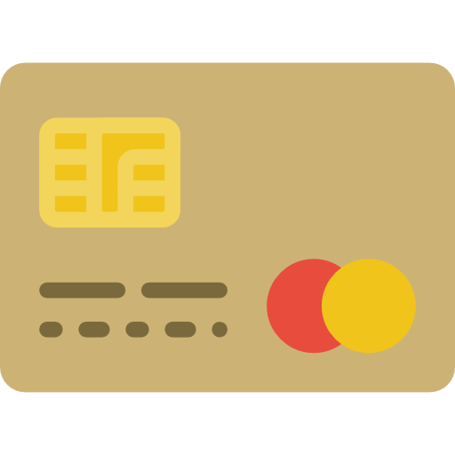 credit card with chip for EMV